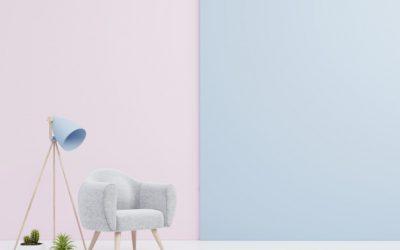 5 raminančios spalvos namų interjerui