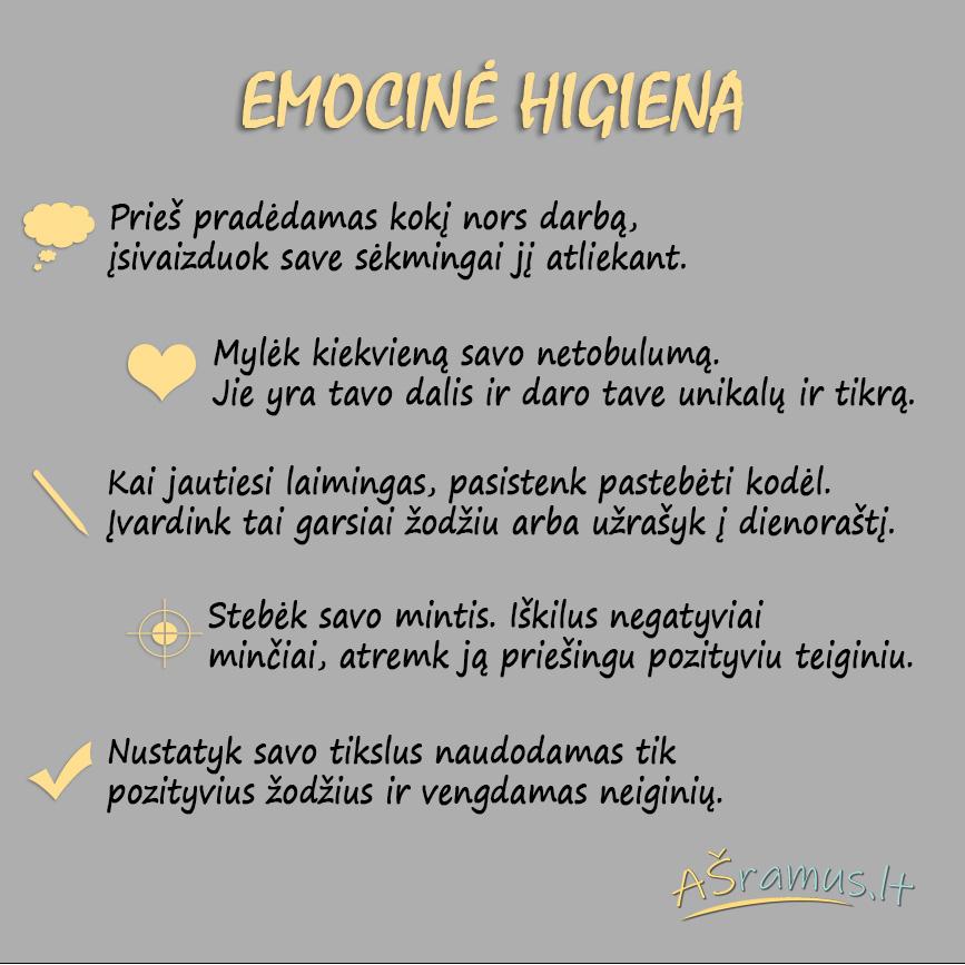 Emocinė higiena