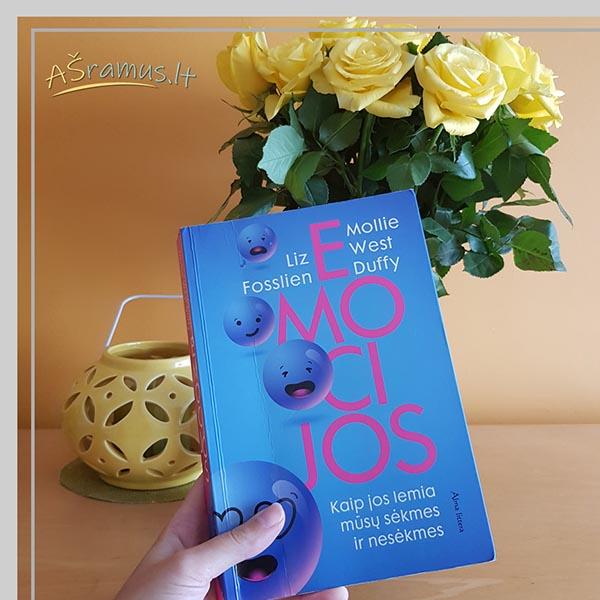 Knyga emocijos. Rekomendacija